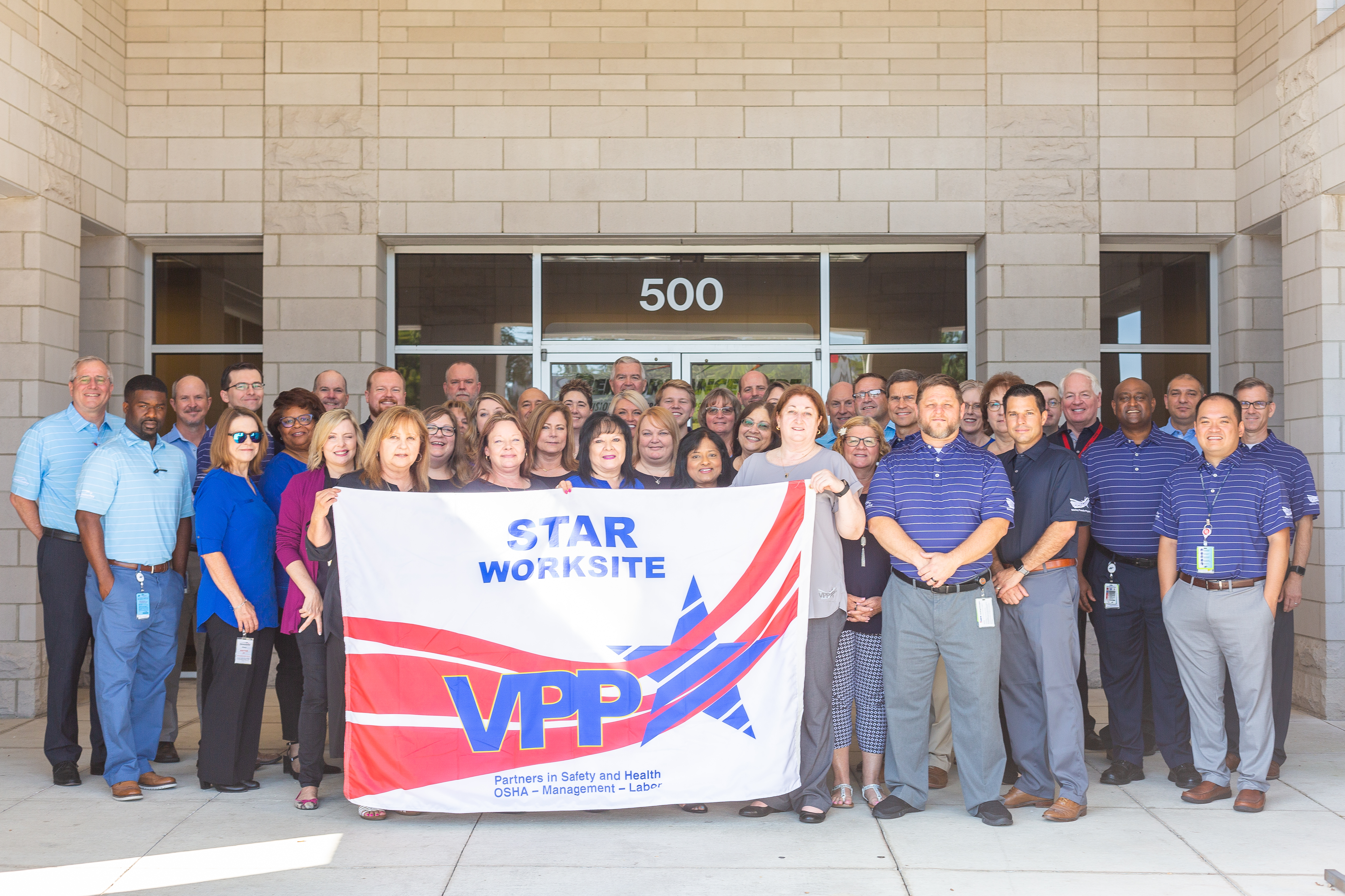 Chevron Phillips Chemical's Performance Pipe division office in Plano earns VPP Star status