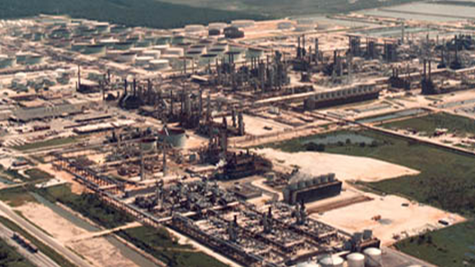Chevron Phillips Chemical facility in Pascagoula, Mississippi