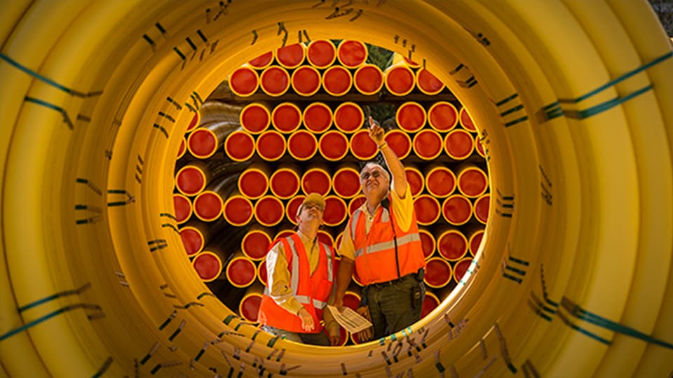 Performance Pipe polyethylene piping made by Chevron Phillips Chemical is used in natural gas, industrial, municipal, mining, oilfield and utility applications.