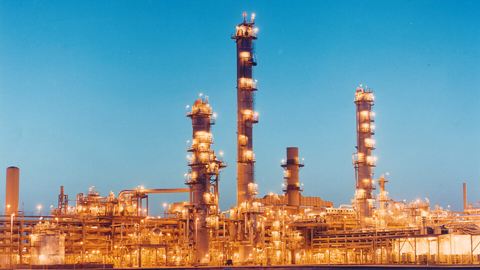 In 2012, the Saudi Polymers Company petrochemical complex in Jubail, Saudi Arabia, began commercial production.