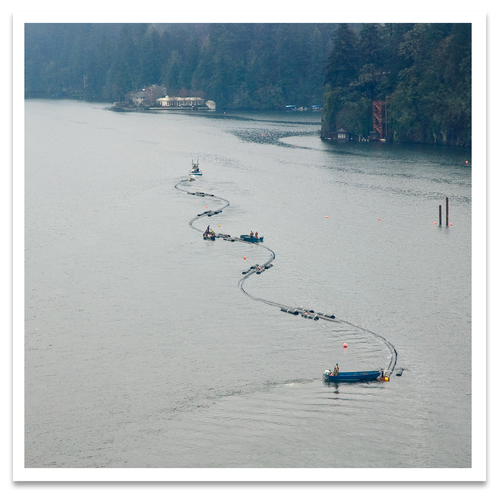 Lake Oswego First to Use HDPE for Submerged Gravity Flow Pipeline