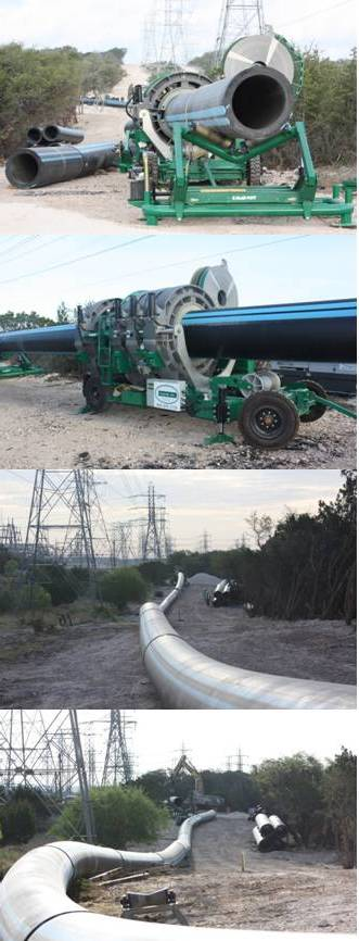 ​Performance Pipe Driscoplex® 4000/4100 HDPE Piping Used to Expand Water System in San Antonio